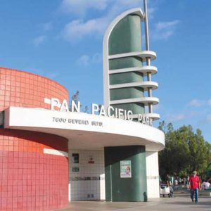 Pan Pacific Park received an overall grade of B+. (photo courtesy of the Los Angeles City Controller's Office)