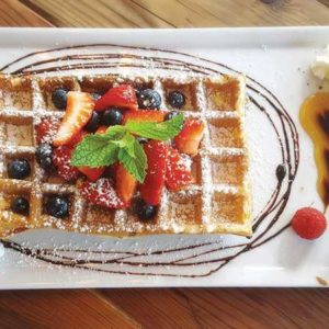 web.Waffle with berries