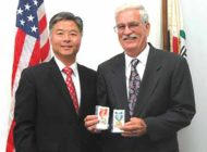 Congressman presents medals to Navy veteran