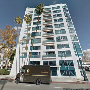 Blu Beverly Hills is located in the 8600 block of Wilshire Boulevard. (photo courtesy of Google Maps)