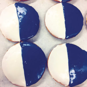 Canter's Deli's Blue and White cookies