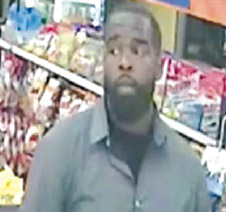Police released a photograph of the suspect wanted for the robbery on Aug. 27. (photo courtesy of the LAPD)