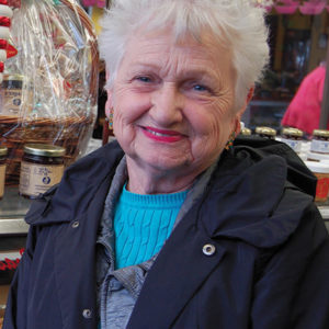 phyllis Magee retired, but remains a part of the family business. (photo by Edwin Folven)