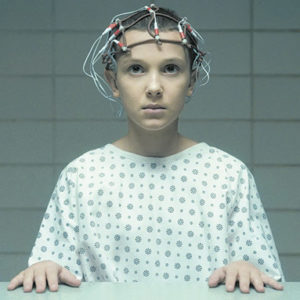 "Millie Bobby Brown stars as Eleven in ""Stranger Things."" (photo courtesy of Netflix)"