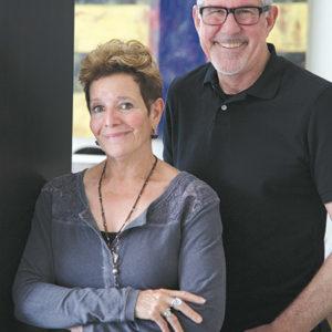 Lisa Landworth and Philip DeBolske
