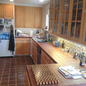 The kitchen before remodeling. (kitchen photos by PAZZ Photography)