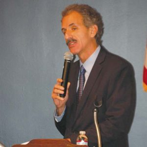 City Attorney Mike Feuer held a town hall for Baby Boomers to discuss ways they can protect themselves from scams shortly before he launched the Avanir investigation. (photo by Edwin Folven)