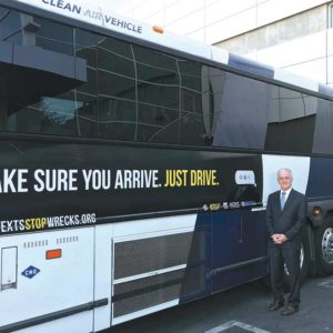 Councilman Paul Krekorian outlined the intricacies of the campaign aimed at stopping texting while driving. (photo courtesy of the Second District Council Office)