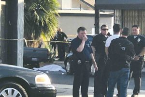 Police investigated a homicide that occurred near Melrose Avenue last summer. The LAPD's Wilshire Division is launching a new unit to address violent and property crime. (photo courtesy of Peter Nichols)