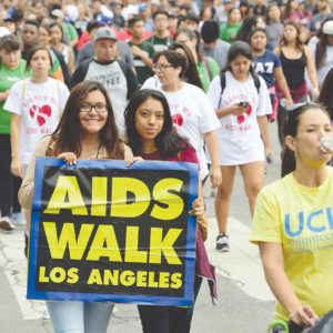 AIDS Walk Los Angeles raises money for APLA Health. This year's walk is scheduled on Sunday. (photo by Donna F. Aceto)