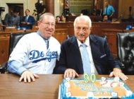 Council welcomes Tommy Lasorda