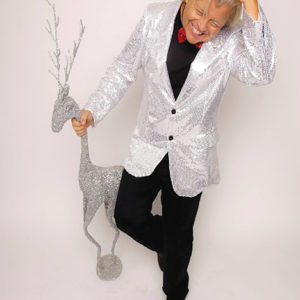 """Dr. Christmas,"" Bob Pranga. (photo courtesy of Friends of Greystone)"