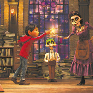 "Anthony Gonzalez voices Miguel and Alanna Ubach voices Mamá Imelda Rivera in ""Coco,"" a film that will pull on audiences' heartstrings. (Anthony Gonzalez voices Miguel and Alanna Ubach voices Mamá Imelda Rivera in ""Coco,"" a film that will pull on audiences' heartstrings)"
