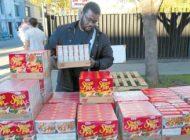Thanksgiving volunteers help those in need