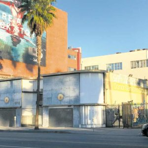 The Hollywood Reporter Building on Sunset Boulevard will be preserved after the Los Angeles City Council designated it a historic cultural landmark. (photo by Luke Harold)
