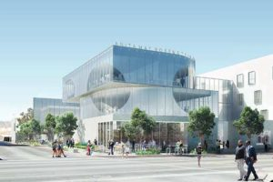 The L.A. LGBT Center's Anita May Rosenstein Campus will feature housing and a shelter for approximately 225 people. (photo courtesy of the L.A. LGBT Center)