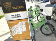 Bike sharing rolling along in Beverly Hills