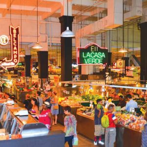 The new owners of the Grand Central Market, which just celebrated its 100th birthday, said they are committed to maintaining the authenticity of the market. (photo courtesy of Neon Tommy)