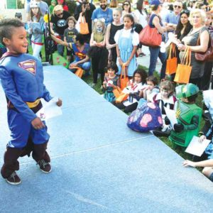 The Youth Halloween Carnival was part of the annual festivities in West Hollywood. (photo courtesy of the city of West Hollywood)