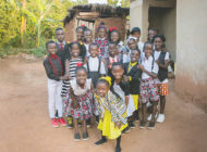 Children's choir from Uganda visits L.A.