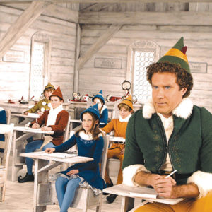 """Will Ferrell stars as Buddy in 2003's """"Elf,"""" a quintessential holiday film. (photo courtesy of New Line Cinema)"""