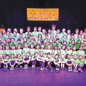 """More than 75 Beverly Hills students performed at the """"Taste of Broadway"""" at the Salter Theater. (photo courtesy of the city of Beverly Hills)"""