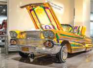 New lowriders showcased at the  Petersen Automotive Museum