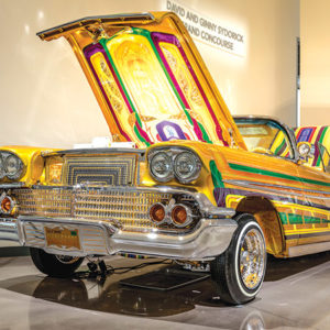 """Final Score,"""" owned by Chris Roark, is one of the lowriders on display. (photo courtesy of Nikki Riedmiller)"""