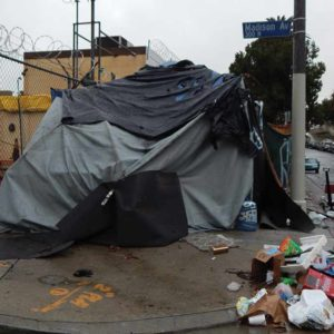 Homeless encampments have become increasingly common throughout the county. (Park Labrea News/Beverly Press file photo)