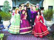 Mayor Garcetti hosts 'Snow Ball' for seniors
