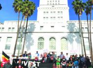 L.A. activists celebrate victory over Wells Fargo