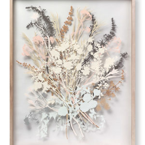 "Justina Freel's ""California Coastal Wildflower Bouquet."" (photo courtesy of Descanso Gardens)"