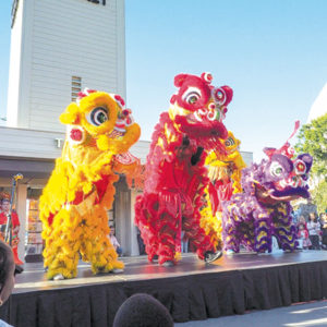Enjoy fun for the entire family that only Chinese New Year can bring at the Farmers Market and The Grove this weekend. (photo courtesy of Farmers Market)