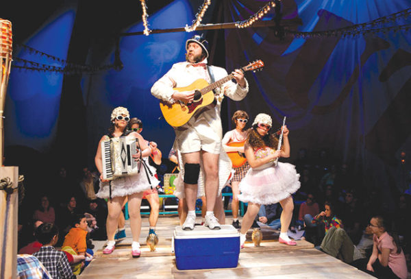 "The Hypocrites' ""Pirates of Penzance"" at Arizona Repertory Theatre. (photo courtesy of The Hypocrites)"