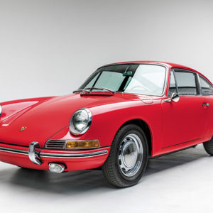 The Porsche 901 is one of the many sportscars on display at the exciting new exhibit at the Petersen Automotive Museum. (photo courtesy of Petersen Automotive Museum)