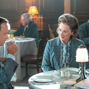 "Tom Hanks stars as Ben Bradlee and Meryl Streep stars as Kay Graham in ""The Post,"" a film about the media coverage of the Pentagon Papers. (photo courtesy of Fox Pictures)"