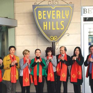 (photo courtesy of the Beverly Hills Conference & Visitors Bureau)