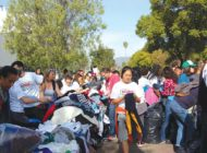 Big Sunday sees big turnout for 25,000-item clothing drive