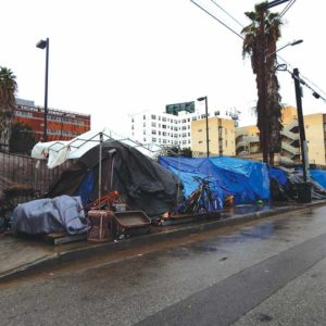 Results from this year's homeless count will help county and city officials guide their efforts to combat the epidemic. (Park Labrea News/Beverly Press file photo)