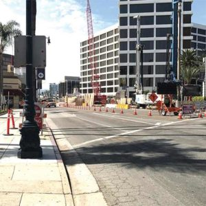 The Purple Line Extension project will extend into Beverly Hills, eventually tunneling underneath the high school if Metro's current plans remain intact. (photo courtesy of Metro)