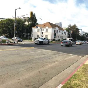 Paving will continue this weekend in preparation for safety improvements along Sixth Street. (photo by Luke Harold)