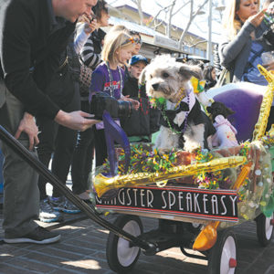 The Mutti Gras parade is a big hit every year at the Farmers Market. (photo courtesy of the Original Farmers Market)
