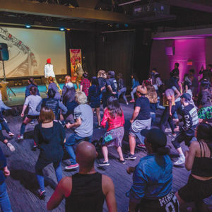 The 2018 K-pop Night will feature dance battles, workshops and flash mobs. (photo courtesy of KCCLA)