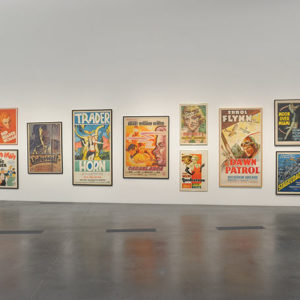 The Los Angeles County Museum of Art's newest exhibition explores the inventiveness of international movie posters from the 1920s to the 1950s. (photo by Donato Sardella / Getty Images for LACMA)
