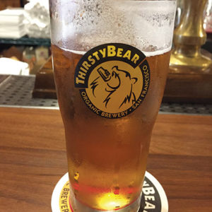 Thirsty Bear offers a great selection of beer. (photo by Karen Villalpando)