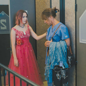 Laurie Metcalf stars as Marion, Lady Bird's (Saoirse Ronan) mother in the indie film directed by Greta Gerwig. (photo courtesy of A24)