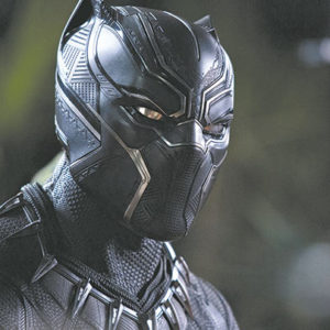 Chadwick Boseman is the Black Panther – King T'Challa of Wakanda – in the new hit film. (photo courtesy of Marvel Studios)