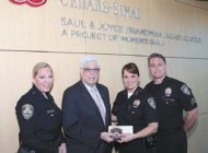Beverly Hills police support breast cancer awareness