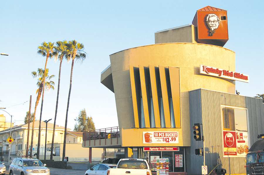 Landmark Kfc Location Damaged By Fire Park Labrea News