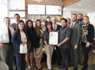 Councilman celebrates local business
